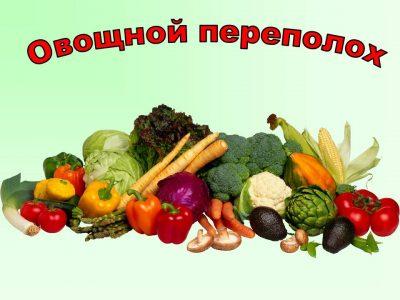 """Выставка """"Овощной переполох"""""""
